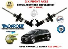 FOR OPEL VAUXHALL ZAFIRA P12 2011->NEW 2X FRONT LEFT RIGHT SHOCK ABSORBER SET