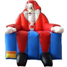 INFLATABLE SANTA CLAUS CHRISTMAS YARD DECOR OUTDOOR GARDEN DECORATIONBOUNCE