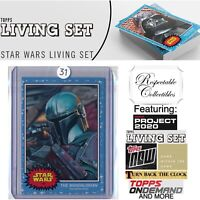 2020 Topps Star Wars Living Set - Card #145 The Mandalorian - The Mandalorian