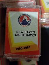 1990-91 Pro Cards AHL NEW HAVEN NIGHTHAWKS Hockey Team Set Sealed