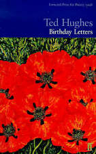 Birthday Letters by Ted Hughes (Paperback) LIKE NEW, FREE POST IN AUSTRALIA