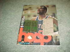 1980 New York Knicks v Milwaukee Bucks Basketball Program with tickets 1/11