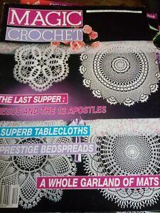 Magic Crochet Magazine December 1990