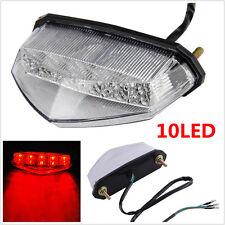 12V Red 10 LED Motorcycle ATV Dirt Bike Brake Stop Running Tail Light Universal
