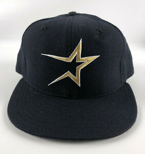 Houston Astros New Era 5950 Baseball Hat Red Size 7 3/8 Vintage 1994
