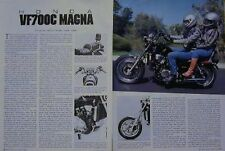 1985 HONDA 700 MAGNA VF700C Original Motorcycle Article