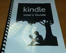 Amazon Kindle Paperwhite gedruckte Bedienungsanleitung Benutzerhandbuch