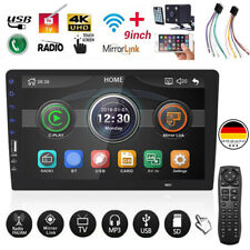 9 inch Android 9.0 Car MP5 Player 1Din Touch Screen Stereo Rear Camera US