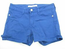 JOE'S JEANS SH2175 Youth Girl's Size 14 Casual Stretch Blue Denim Shorts