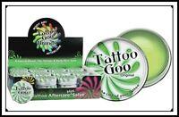 Tattoo Goo Aftercare Salve Tin Natural Healing Skin Care .33oz .75oz Case Kit