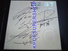 BEAST 1st Mini Album Beast Is The B2ST Autographed Signed CD Great Cond. First