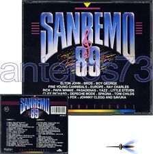 SANREMO 89 RARO 2CD: SPAGNA LISA HUNT DEPECHE MODE BROS