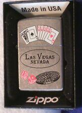 Zippo Chrome Las Vegas Nevada Lighter