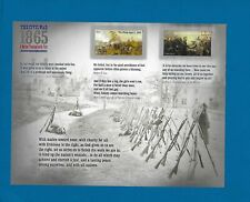 2015 CIVIL WAR 1863 Stamp Sheet  Mint/NH