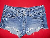 Women's American Eagle Distressed Jean Shorts Size 0