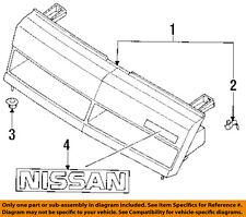 NISSAN OEM 87-90 Sentra-Grille Retainer Clip Nut Screw 62380U7400