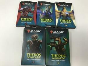 Lot of 5 Magic The Gathering MTG 2020 Theros Beyond Death Theme Booster Packs