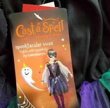 witch swan costume dress haloween party 7-8 years TU BNWT