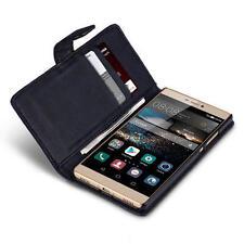 Custodie portafogli nero per Huawei Ascend