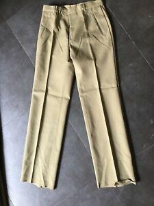Pantalon ancien tdf taille 42 armée française clair beige 80