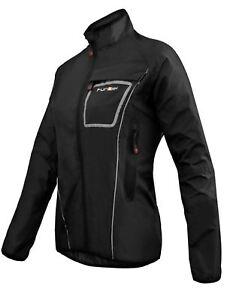 Cycling Jacket Funkier Storm WJ-1403 Ladies Waterproof Black Large waterproof