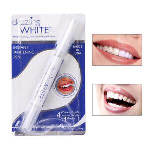 Peroxide Gel Tooth Cleaning Bleaching Kit Dental White Teeth Whitening Pen New
