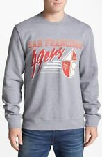 SAN FRANCISCO 49ERS MITCHELL & NESS SWEATSHIRT.  GRAY