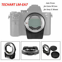 TECHART PRO LM-EA7 AF 6.0 Adapter for Leica M Lens to Sony E A72 A7RIII A6500