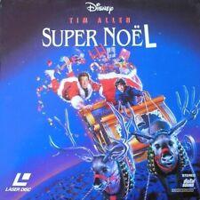 SUPER NOEL WS VF PAL LASERDISC Tim Allen, Judge Reinhold,