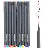 0.38 mm Fine Line Drawing Pen Marker Coloring Book, Bullet Journal Art Project