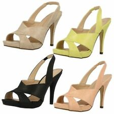 Slingbacks Synthetic Formal Shoes for Women