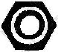 Mutter, Abgaskrümmer für Abgasanlage BOSAL 258-028