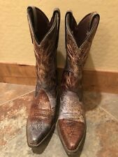 Crush by Durango Womens Crackle and Chrome Western Boot DCRD012