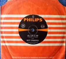 DUSTY SPRINGFIELD-ALL I SEE IS YOU/I'M GONNA LEAVE YOU-45 RPM