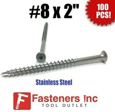 """Pack of 500 Stainless Steel Deck Screws Bugle Square Drive #14 x 3-1//2/"""""""