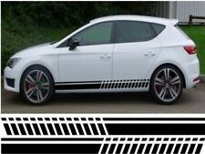 UNIVERSAL SIDE STRIPES FOR SEAT LEON STICKER GRAPHIC DECALS
