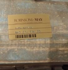 Robinsons May Credit Card Obsolete/Collectible