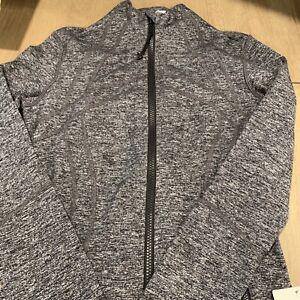 NWT authentic lululemon define jacket in Heathered Black size 6