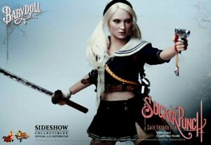 """HOT TOYS SUCKER PUNCH BABY DOLL MOVIE MASTERPIECE 12"""" SHIPPER SEALED FIGURE"""
