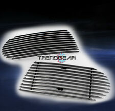 2002-2005 FORD EXPLORER BUMPER FOG LIGHT BILLET GRILLE INSERT 2PCS SET 2003 2004
