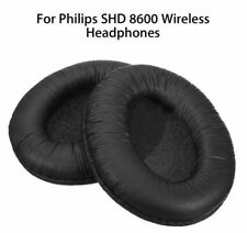 COPPIA di ricambio in pelle artificiale delle Ear Pad Cuscini Per PHILIPS  SHD 86. 022bd19e2736