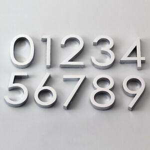 6cm Door Number Sign Plaques Adhesive Stickers 0-9 Digital Apartment Home Decor