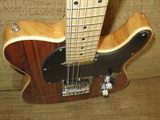 NEW EXPERT EXOTIC COCOBOLO 12 STRING TELE STYLE ELECTRIC GUITAR-stl01-12-818