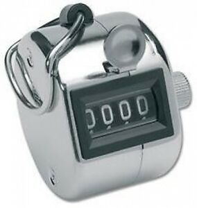 New Digit Hand Tally for People / Golf Counter / Counting. Clicker Number  145