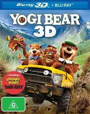 Yogi Bear (Blu-ray, 2011, 2-Disc Set)