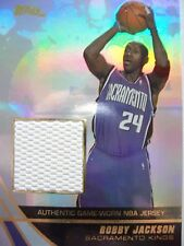 2004 TOPPS BASKETBALL GAME JERSEY BOBBY JACKSON  KINGS  JE-BJ    BX54