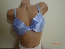 689e5590aa190 Sears Full Cover Floral Satin Adjustable straps Underwire Hook back Size 36C
