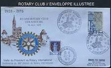 ROTARY CLUB - STRASBOURG / 1978 ENVELOPPE FDC