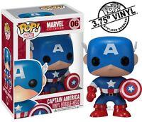 Captain America Marvel Comics 06 Funko Pop! Vinyl Figure