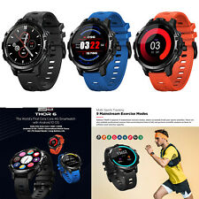 Zeblaze Thor 6 Bluetooth Smart Watch WiFi GPS Heart Rate Monitor for Android/iOS